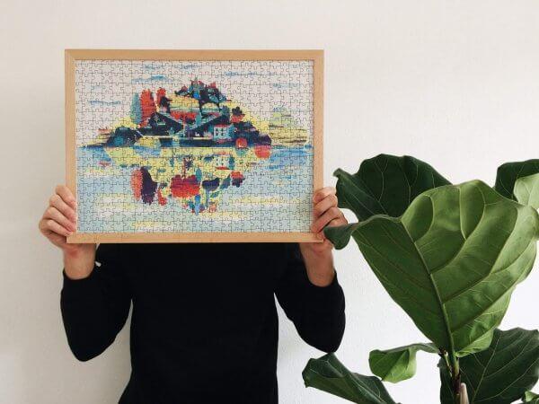 Daniela Olejníková Isola Bella Puzzle Pucle