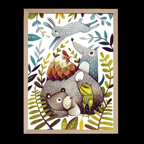 Ilustrované puzzle od Dominiky Šikuincovej Pucle