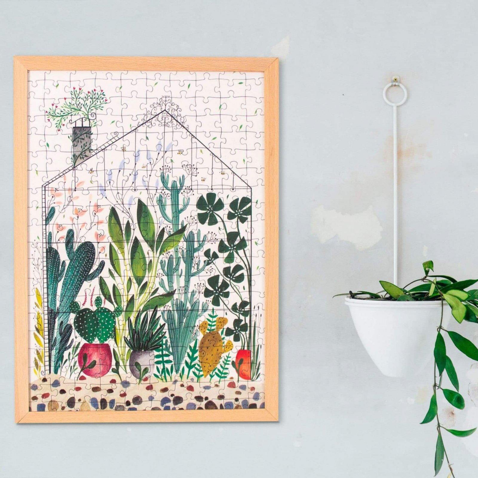 Ilustrované puzzle od slovenskej ilustrátorky Kristíny Kemeníkovej Sleník Pucle