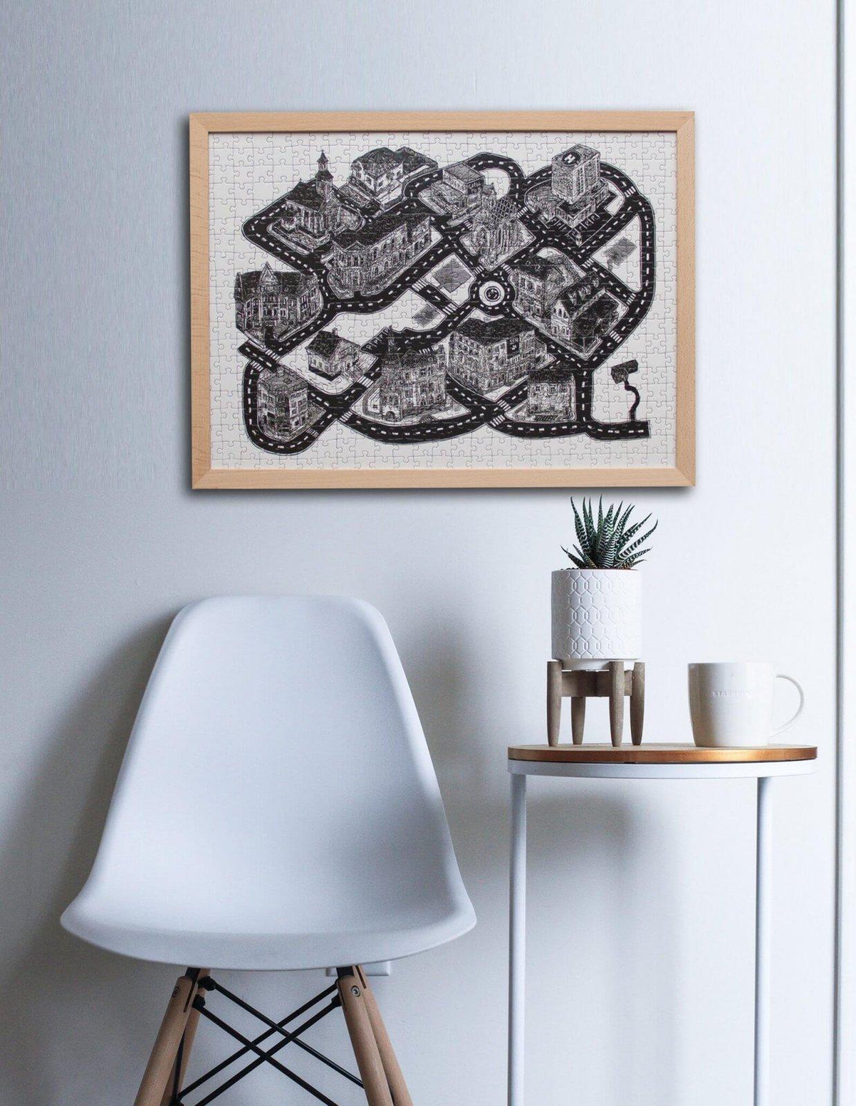 Lukáš Cehľár ilustrácia na Puzzle