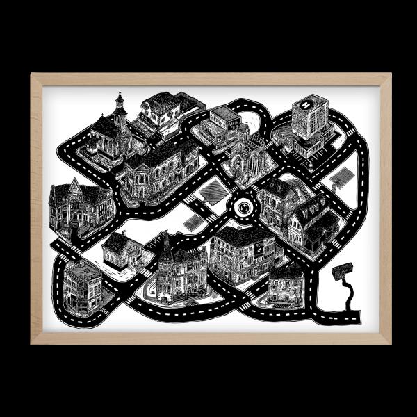 Lukáš Cehľár ilustrované puzzle Pucle