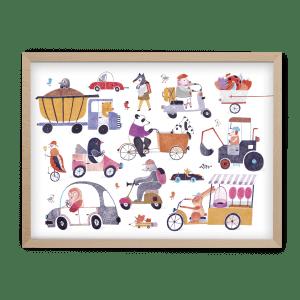 Simona Čechová ilustrované puzzle