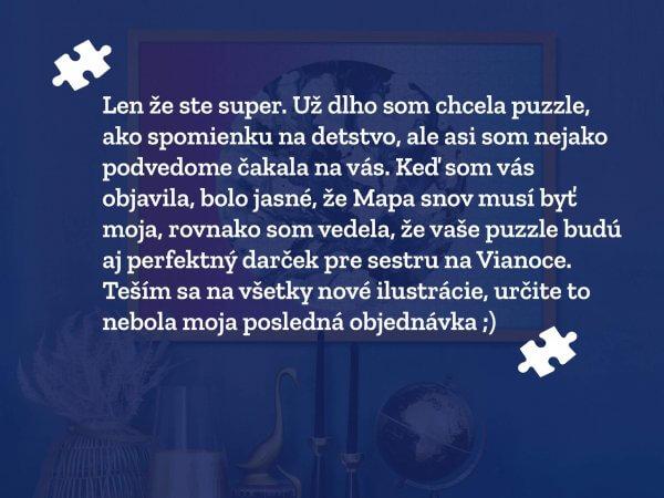 Zákazníčka Lenka review Pucle puzzle