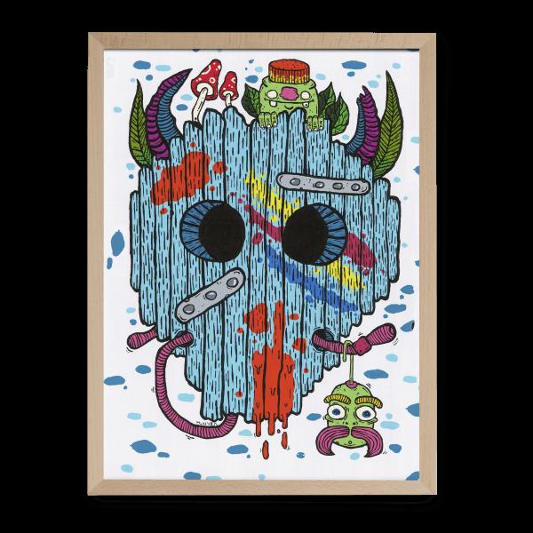 Ilustrované puzzle od Martina Drába MKLK Huba Art