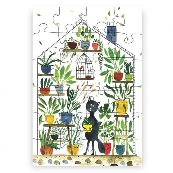 Ilustrované puzzle od Kristíny Kemeníkovej