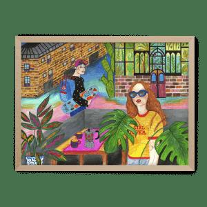 Martu Hlavajová Ilustrované puzle Pucle dievčatá