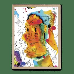 Peter Štuller ilustrované puzzle Pucle