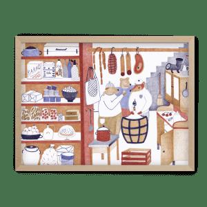 Simona Čechová ilustrované puzzle Pucle