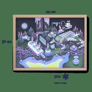 Planétka Cukria Sylvia Kršiaková puzzle