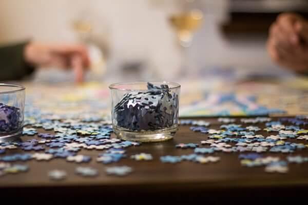 Daniela Olejníková Pucle puzzle na skladanie