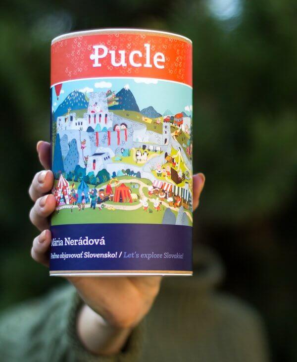 Mária Nerádová Pucle poďme objavovať Slovensko