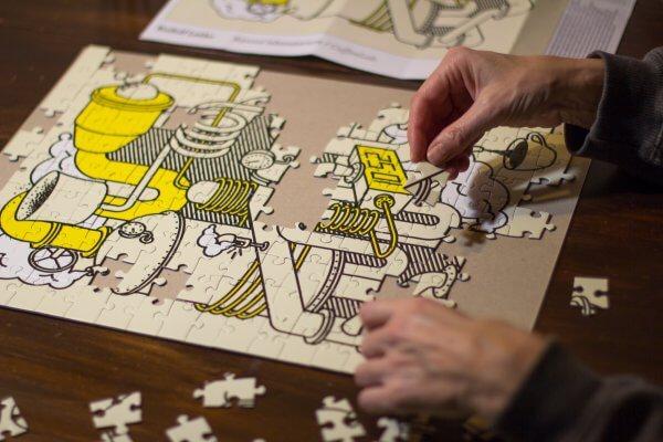 Puzzle Rudolf Letko Pucle