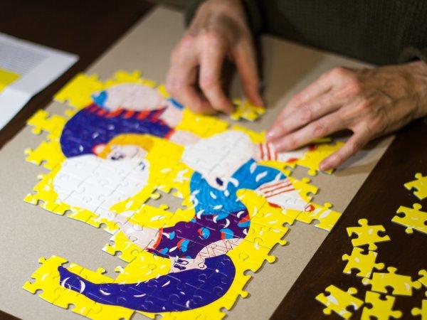 Aandrea Dobrin Dinu This is War puzzle Pucle puzzle bez lepidla