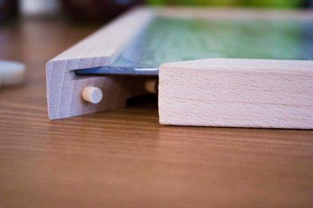 Pucle dreveny ram puzzle
