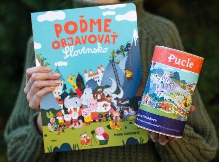 Mária Nerádová Pucle poďme objavovt Slovensko Pucle ilustrované slovenskými ilustrátormi