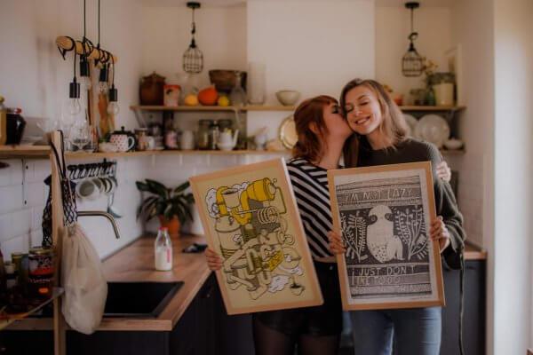 Barbora Janáková a Lenka Kuricová Pucle, fotografia Ivana Santová