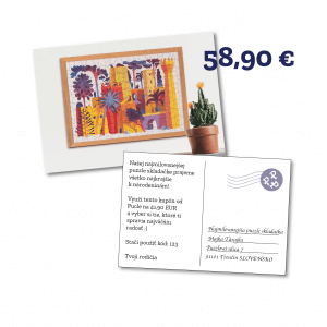 Darčekový kupón na Pucle ako pohladnica v hodnote 58,90 eur